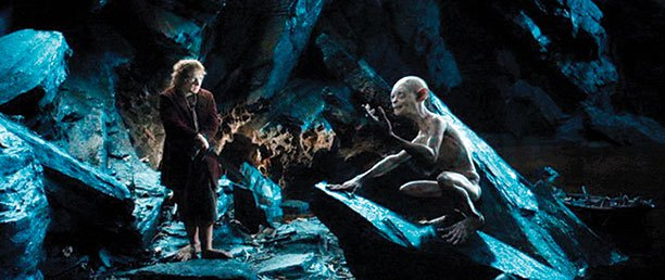 bilbo-and-gollum-trade-riddles